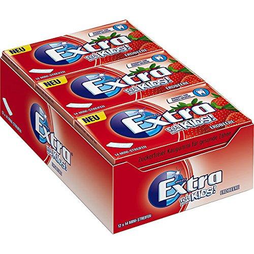 wrigleys-extra-for-kids-mini-strisce-chewing-gum-sapore-edbeere-12-confezioni-da-14-kaugummis