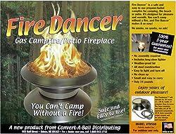 Fire Dancer Portable Propane Fire Pit or Campfire