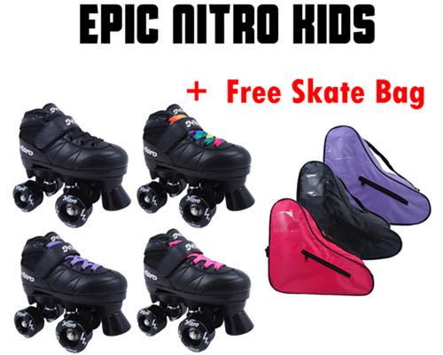 Epic Nitro Kids Quad Roller Skates
