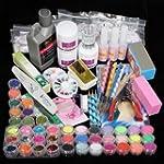 42 Acrylic Powder Liquid Brush Glitte...