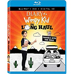 Diary Of A Wimpy Kid 4: The Long Haul [Blu-ray]