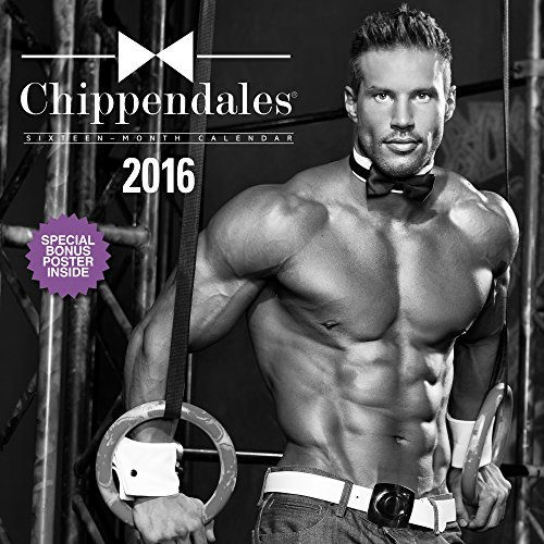 Chippendales Wall Calendar (2016)