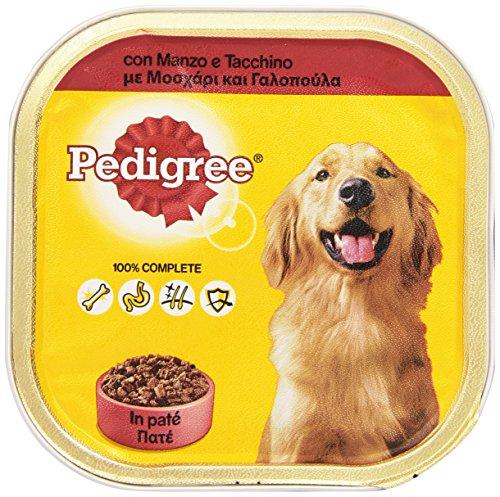 Pedigree - Alimento Completo per Cani Adulti, con Manzo e Tacchino - 300 g