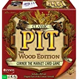 Classic Pit: Wood Edition (Corner the Market Card Game)