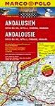 MARCO POLO Karte Andalusien, Costa de...