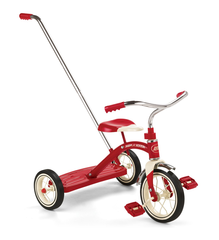 Toddler Radio Flyer Classic Trike Adult Parent Push Handle