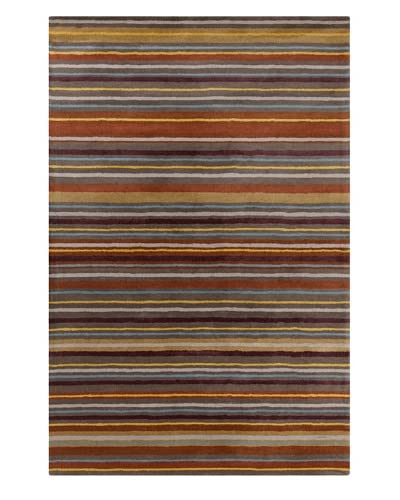 Filament Alonzo Hand-Tufted Wool Rug, Multi, 5′ x 7′ 6″