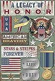 Karen Foster Design Acid and Lignin Free Scrapbooking Sticker Sheet, A Legacy of Honor