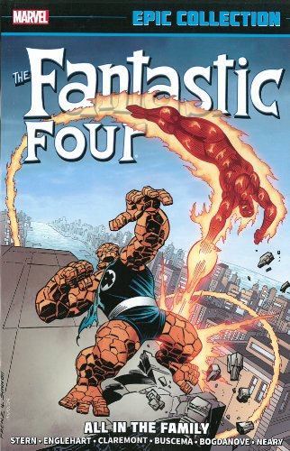 Fantastic Four Epic Collection All In Family