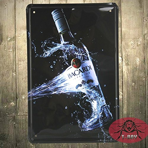 t-ray-new-bacardi-metall-malerei-bar-pub-hall-dekoration-vintage-aufkleber-blechschild-20-30-cm-mix-