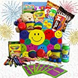 Fun Kids Gift Basket of Snacks and Games -Organic Stores
