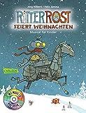Image de Ritter Rost: Ritter Rost feiert Weihnachten: Buch mit CD