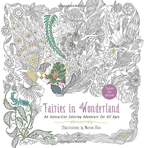 Fairies In Wonderland: An Interactive Coloring Adventure For All Ages -  Harvard Book Store