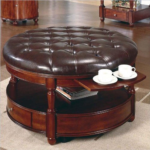 Steve Silver Brewster Cherry Coffee Table