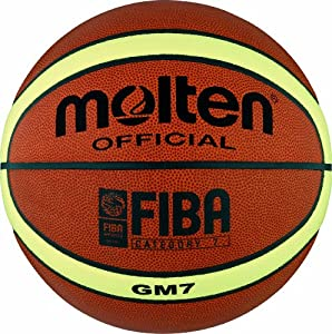 Molten BGM7 Ballon de basket-ball Orange/crème Taille 7