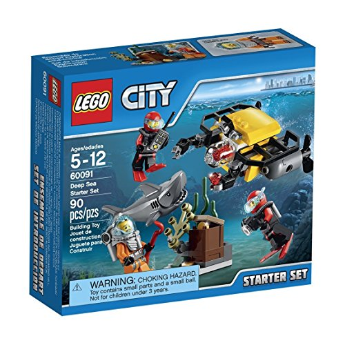LEGO-City-Deep-Sea-Explorers-60091-Starter-Building-Kit