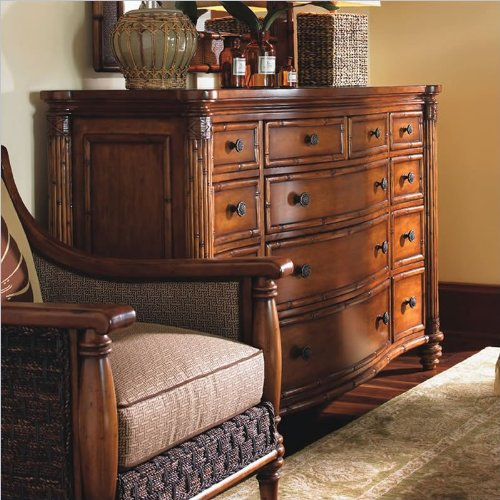 Tommy Bahama Home Tommy Bahama Home Island Estate Barbados Triple Dresser In Plantation front-1070049