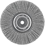 DEWALT DW4907 8 Crimped Bench Wire Wheel, 5/8 Arbor, Wide Face.014