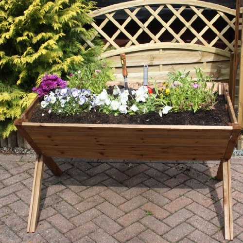 Raised Trough - Pressure treated, raised trough, vegetable trough, wooden trough, planter, plant pot, from Buttercup Farm