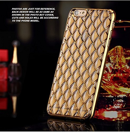 Delkart Stone Touch Back Cover For Vivo Y51L (Golden)