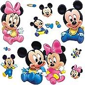 Gadfly- Little Mickey Stick Nursery/baby Wall Sticker Decal