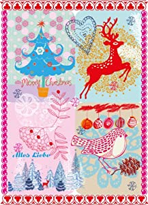 6er Set Weihnachtskarten - Winterzauber - Postkarte, Karte Weihnachten - von Overbeck and Friends