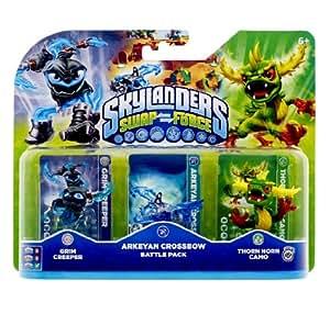 Figurine Skylanders : Giants - Grimm Creeper + Thornhorn Camo + Ballista