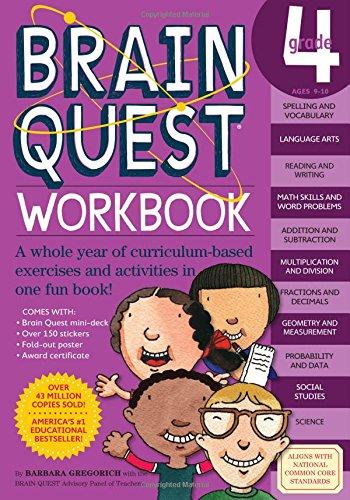 Brain Quest Workbook: Grade 4 (The Quest Workbook compare prices)