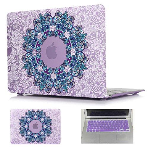 macbook-air-133-caseethnic-ornament-mandala-purple-print-cover-case-for-macbook-air-13-model-a1369-a