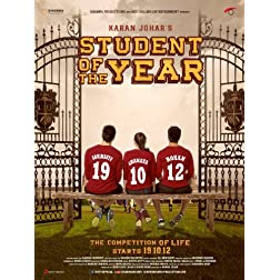 Student Of The Year (2012) (Hindi Movie / Bollywood Film / Indian Cinema) - Blu-Ray
