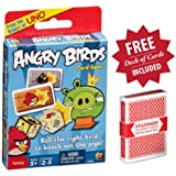 Angry Birds Card Game with Free Deck of Cards