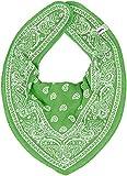 Pippi Bandana Bibs - Babero para Bebé-Niñas, color verde, talla única