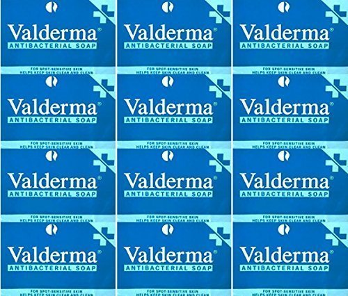 Valderma Soap Bar 100g x 12 Packs by Optima