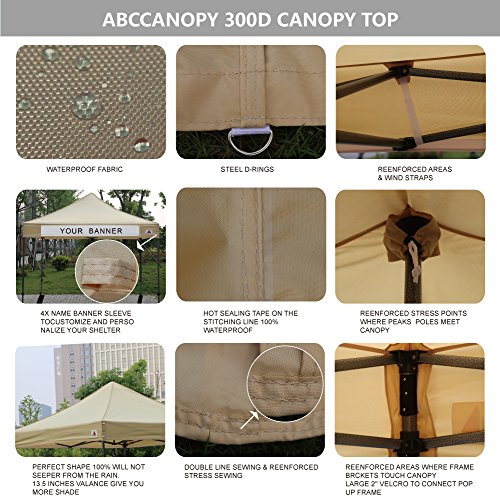Instant Structures Series : Abccanopy kingkong series feet commercial instant