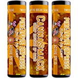 Canna Smack Pineapple Express Spf 15 Hemp Lip Balm Set Of 3 Pineapple Flavor