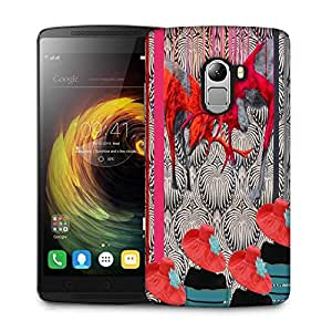Snoogg Deer Fight Designer Protective Back Case Cover For Lenovo K4 Note