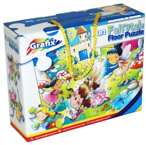 45-Piece Floor Puzzle - Fun Fairytale - 1