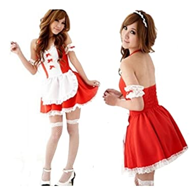 Sexy Maid Cosplay Costume Uniform