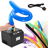 Lagenda Electric Air Balloon Pump, B23 Portable Electric Balloon Pump Balloon Inflator Party Air Blower Electric Balloon Blower Pump with Timer Battery for Party Events Decoration (US Stock)