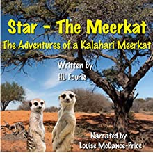 Star the Meerkat: The Adventures of a Kalahari Meerkat (       UNABRIDGED) by HL Fourie Narrated by Louise McCance-Price