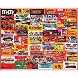 [Best price] Puzzles - White Mountain Puzzles Candy Wrappers - 1000 Piece Jigsaw Puzzle - toys-games
