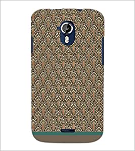 PrintDhaba Pattern D-1519 Back Case Cover for MICROMAX A116 CANVAS HD (Multi-Coloured)