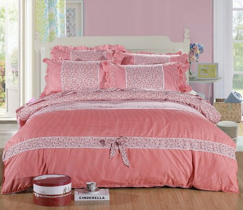 Dancing Youth Pink Girls Bedding Princess Bedding
