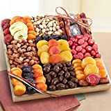 Sweet Extravagance Grand Dried Fruit and Snacks Tray