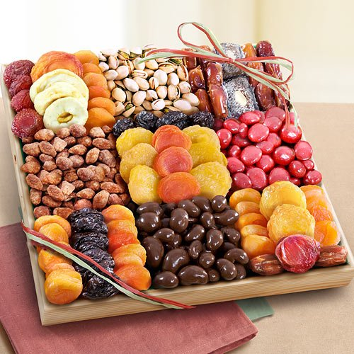 Sweet Extravagance Grand Dried Fruit and Snacks