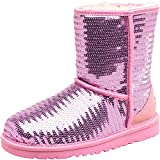 Kids Ugg Junior Girls Classic Short Sparkles Boots Lipgloss