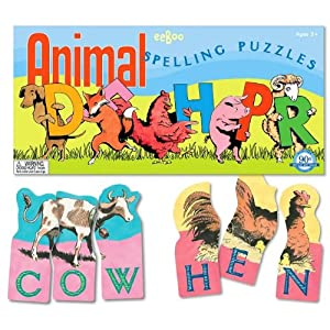 Click to buy <br>Spelling Games for Kids:  Animal Spelling Puzzlesfrom Amazon!