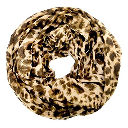 accessu-Echarpe-Foulard-pour-Femme-Animal-Print-Leo-Design-beigebrown