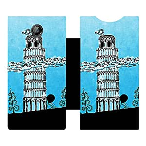 Phone Candy Designer Flip Cover with hi-res printed Vinyl sticker wrap-around for Micromax canvas Bolt D320