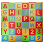 Tadpoles Playmat Set 36-Piece ABC, Mu...